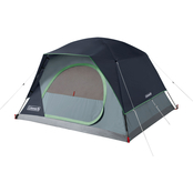 Coleman Skydome 4 Person Blue Nights Camping Tent