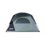 Coleman Skydome 6 Person Blue Nights Camping Tent