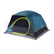 Coleman Dark Room Skydome 4 Person Camping Tent