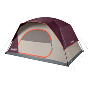 Coleman Skydome 8 Person Blackberry Camping Tent
