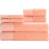 Caro Home Beacon Pastel 6 pc. Towel Set