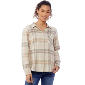 JW Plaid Button Front Shirt