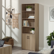 Sauder Beginnings Bookcase with Doors