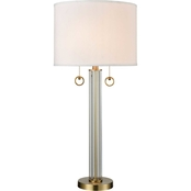 Dimond Lighting Cannery Row 2 Light 34 in. Table Lamp