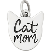 James Avery Sterling Silver Cat Mom Charm