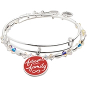 Alex and Ani Forever Family Set of 2 Bracelets