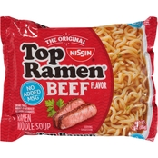 Nissin Top Ramen Beef 3 oz.