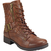 G by Guess Los Angeles Brooklin Combat Boots