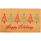 Callowaymills Christmas Tree Fun 17 x 29 in. Doormat
