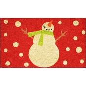Callowaymills Holiday Snowman Doormat