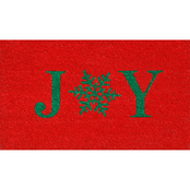 Callowaymills Snowflake Joy 17 x 29 in. Doormat