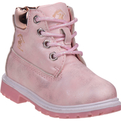 Beverly Hills Polo Club Toddler Girls Construction Boots