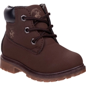 Beverly Hills Polo Club Grade School Boys Construction Boots