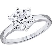 14K Gold 1/6 ct. Diamond Solitaire Engagement Ring