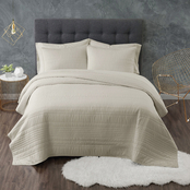 Truly Calm Antimicrobial 3 pc. Quilt Set