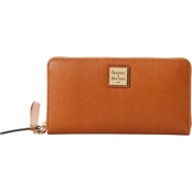 Dooney & Bourke Saffiano II Large Zip Around Wristlet