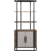 Coast to Coast Accents Bradenton 2 Door Bookcase