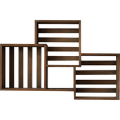 Simply Perfect Compartmental Shelving Wall Decor