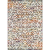 L'Baiet Paige Multicolor Traditional Rug