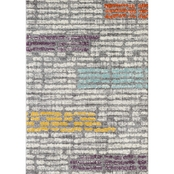 L'Baiet Alice Grey Striped Rug