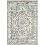 L'Baiet Blair Blue Oriental 5 x 7 ft. Rug