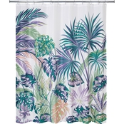 Allure Oversize Palm Shower Curtain