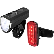 Schwinn 50-150 Lumen Light Sensing USB Rechargeable Light Set