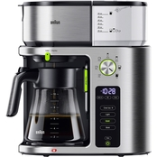 Braun MultiServe 10 Cup Coffee Maker with Glass Carafe