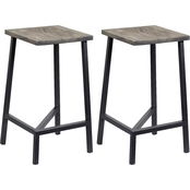 Coast to Coast Accents Yukon Backless Counter Stool 2 pk.