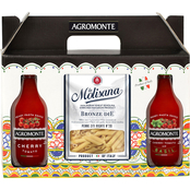Agromonte Cherry Tomato Classic, Basil and Pasta La Molisana 10 pc. Gift Box