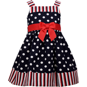 Bonnie Jean Toddler Girls Pull Through Dress