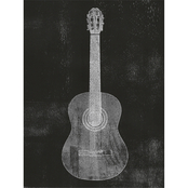 Inkstry Old Guitar Canvas Print