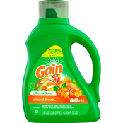 Gain Liquid Laundry Detergent Island Fresh Scent 100 Oz.