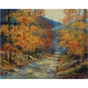 Inkstry Fall in the Blue Ridge Canvas Print