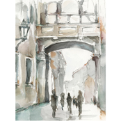 Inkstry Watercolor Arch Studies I Canvas Print