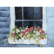 Inkstry Window Box I Giclee Gallery Wrap Canvas Print