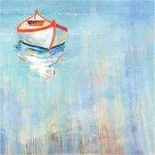 Inkstry Floating in Thought Giclee Gallery Wrap Canvas Print