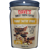 Dave's Sweet Tooth Peanut Butter Crunch Candy 10 ct., 4 oz.