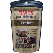 Dave's Sweet Tooth Coffee Toffee Candy 10 ct., 4 oz.
