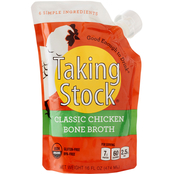 Taking Stock Foods Classic Chicken Bone Broth 6 pouches, 16 oz. ea.