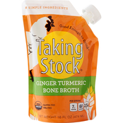 Taking Stock Foods Ginger Turmeric Bone Broth 6 pouches, 16 oz. ea.