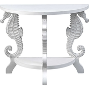Coast to Coast Accents Demilune Console Table