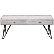 Coast to Coast Accents Aspen Court II 2 Drawer Cocktail Table