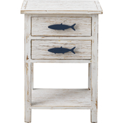 Coast to Coast Accents 2 Drawer Accent Table
