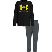 Under Armour Toddler Boys Core Logo Top and Pants 2 pc. Set