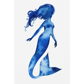 Trademark Fine Art Grace Popp Blue Sirena II Canvas Art