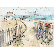Trademark Fine Art Anne Tavoletti Coastal Catch V Canvas Art