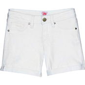 YMI Jeans Girls Cuffed Twill Shorts