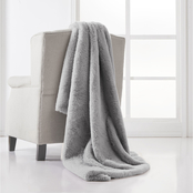 Charisma Luxe Faux Fur 50 in. x 70 in. Throw in a Gift Box