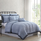 Cottage Lane Cotswold 7 pc. Microfiber Comforter Set